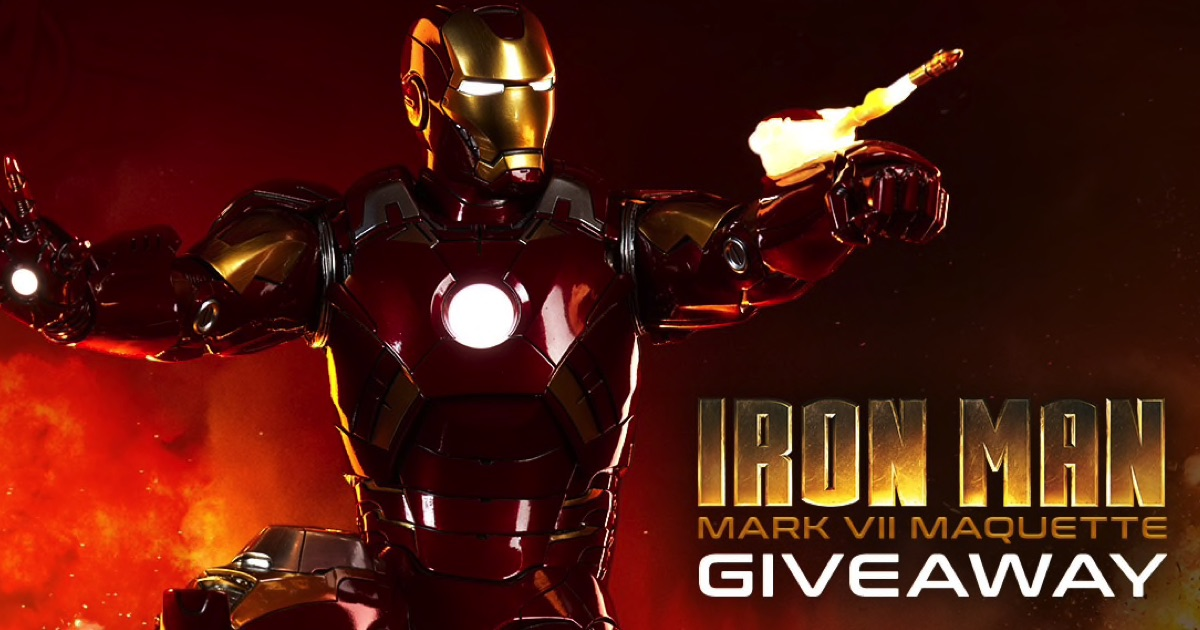 Iron Man Mark VII Statue Giveaway!