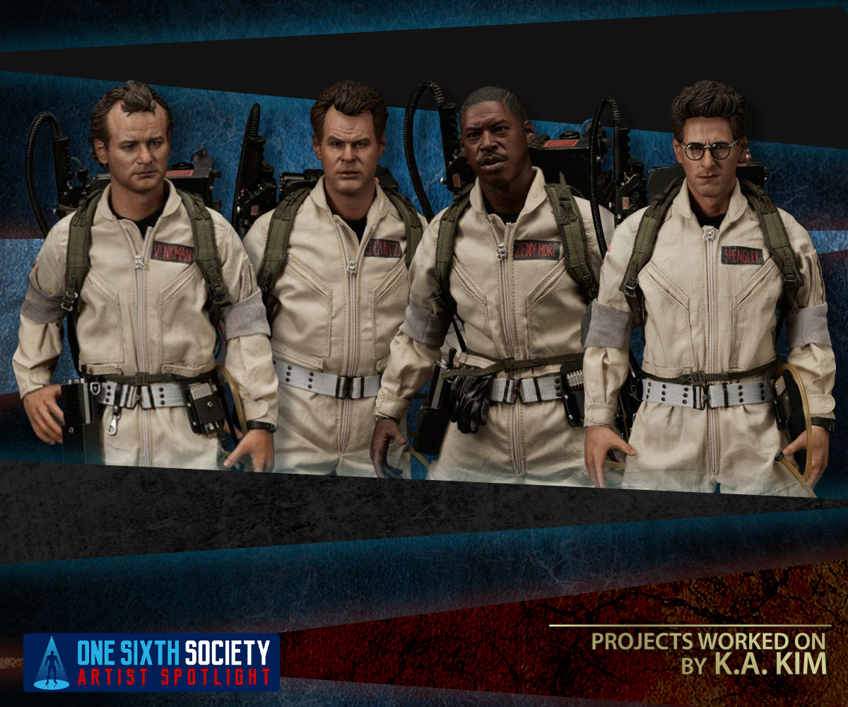 Sixth Scale Blitway Ghostbusters Figures By K.A. KIM