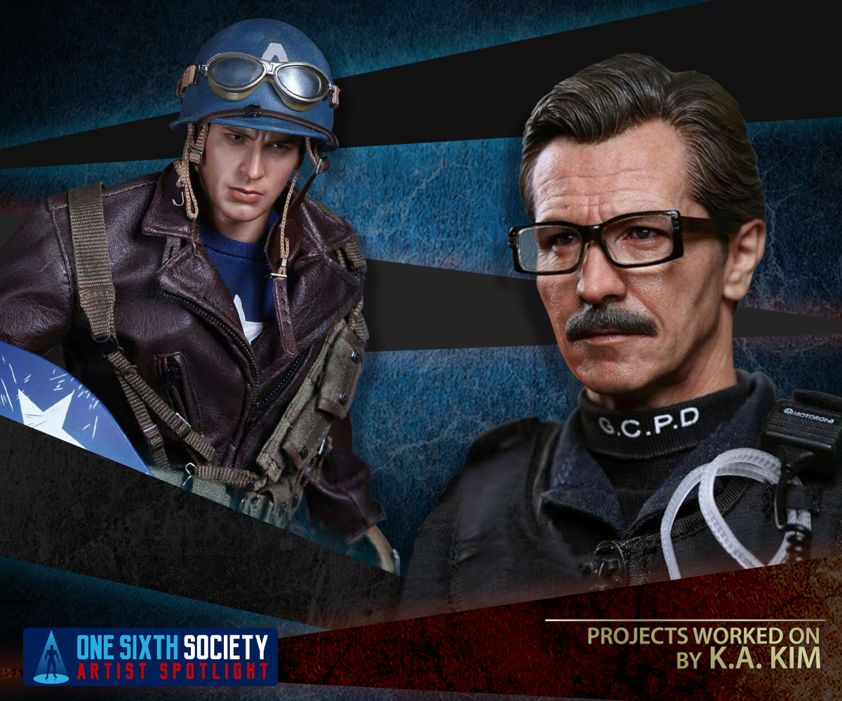 Hot Toys Captain America and Dark Knight Commissionaire Gordon by K.A. KIM