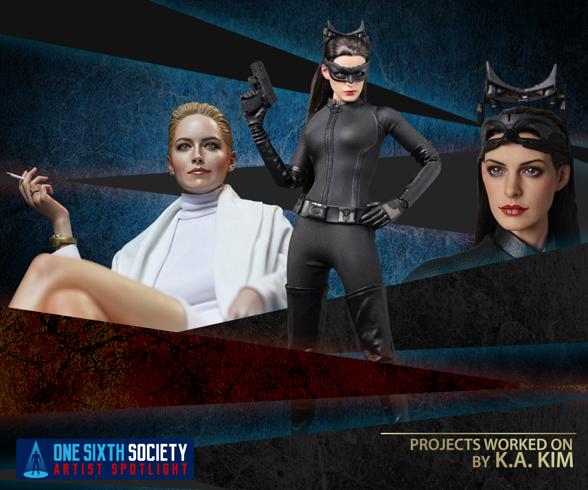 Hot Toys Catwoman and Sharon Stone Basic Instinct Statue by K.A. KIM
