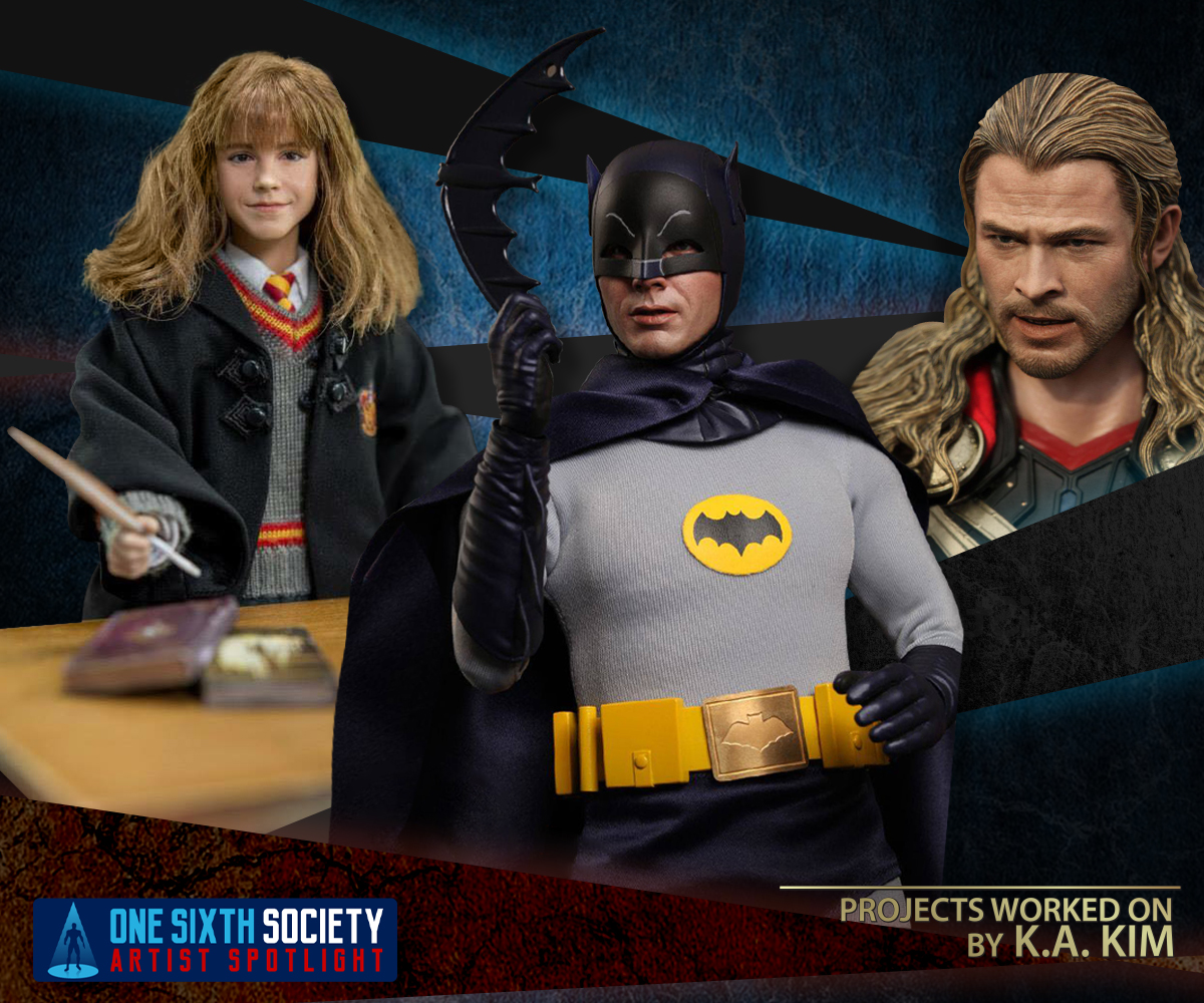 K.A. Kim Has Worked on Harry Potter, 1969 Batman and Thor Figures