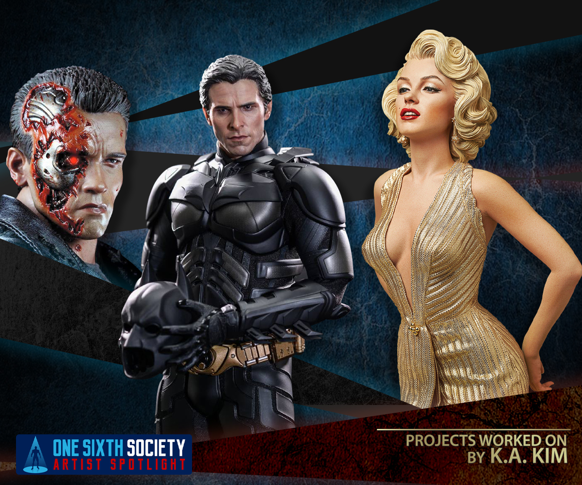 K.A. Kim Worked on Hot Toys Terminator, Batman and Marilyn Monroe