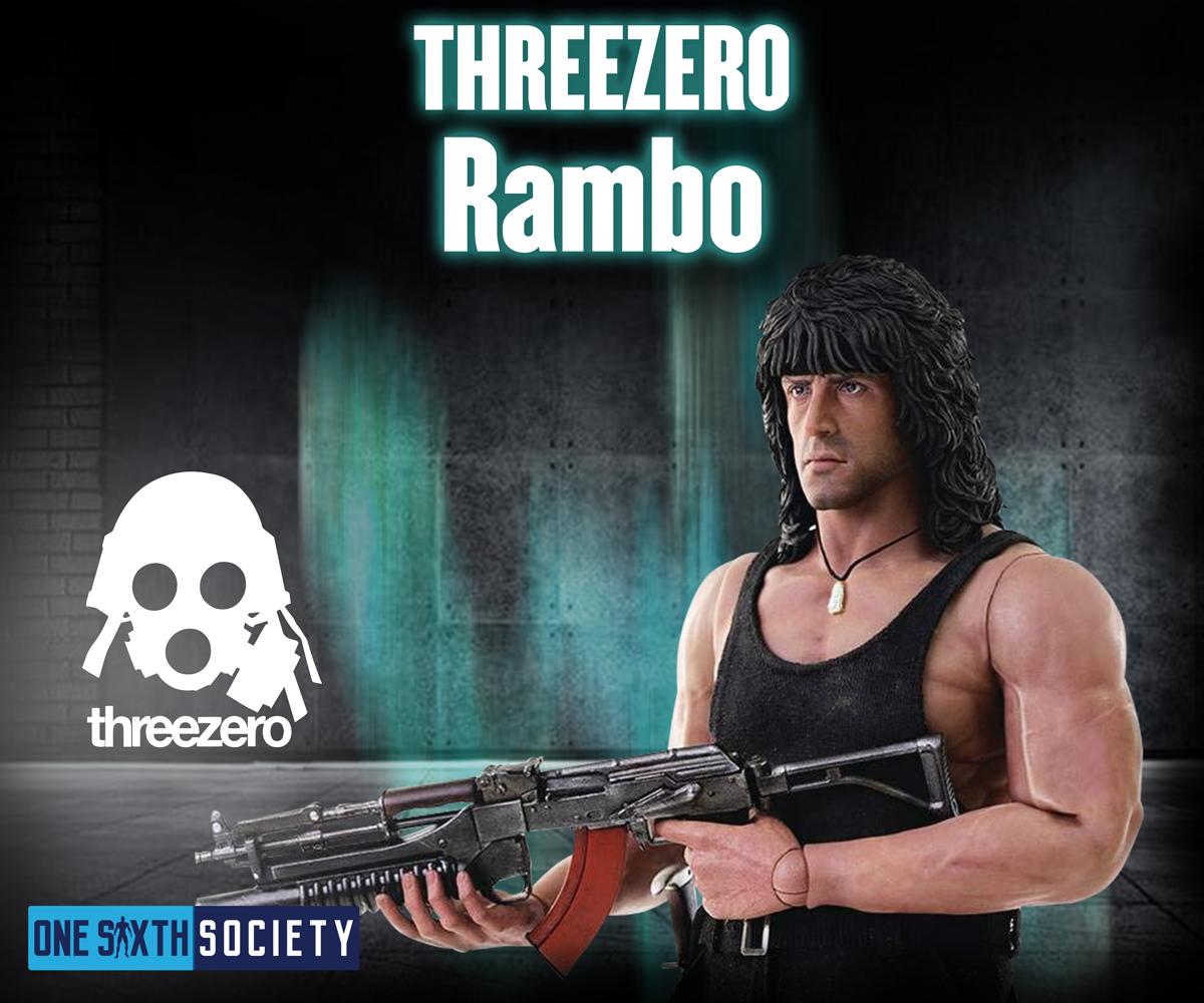 ThreeZero Rambo Figure